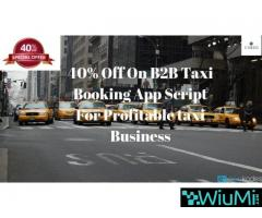40% Off On Taxi Booking App Script For an Online Taxi Business
