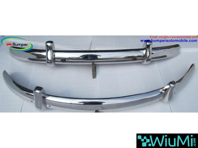 VW Beetle Euro style bumper (1955-1972) stainless steel - 2/4