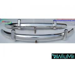 VW Beetle Euro style bumper (1955-1972) stainless steel - Image 3/4