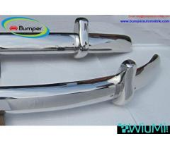 VW Beetle Euro style bumper (1955-1972) stainless steel - Image 4/4